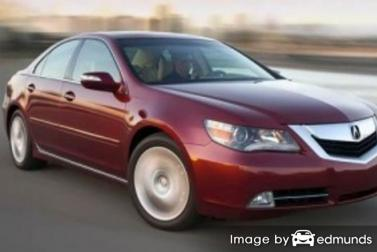 Insurance rates Acura RL in San Francisco