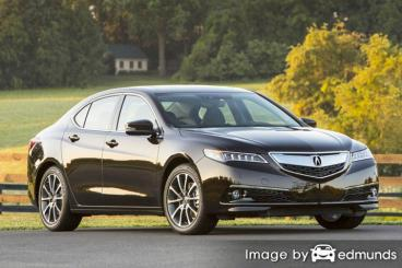 Insurance rates Acura TLX in San Francisco