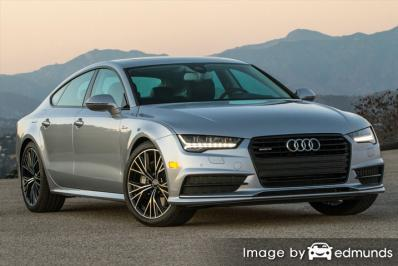 Insurance rates Audi A7 in San Francisco