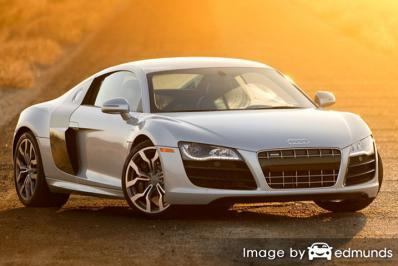 Insurance quote for Audi R8 in San Francisco