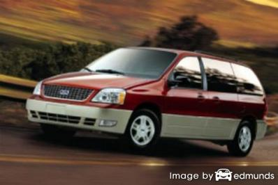 Cheapest Insurance Quotes for a Ford Freestar in San ...