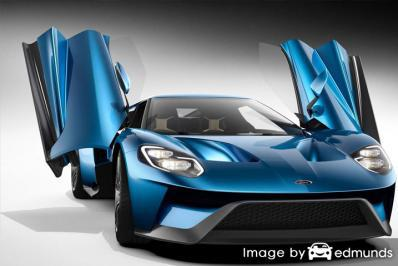 Insurance quote for Ford GT in San Francisco