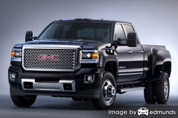 Insurance quote for GMC Sierra 3500HD in San Francisco
