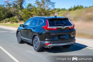 Insurance rates Honda CR-V in San Francisco