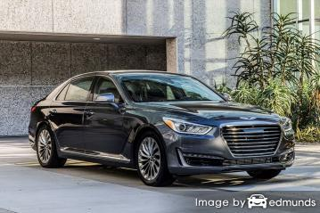Insurance quote for Hyundai G90 in San Francisco