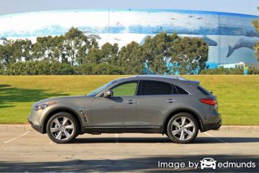 Insurance quote for Infiniti FX50 in San Francisco