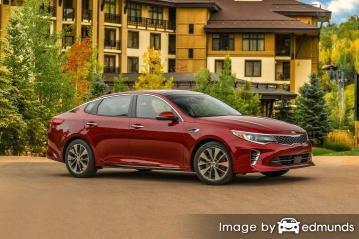 Insurance quote for Kia Optima in San Francisco