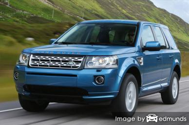 Insurance quote for Land Rover LR2 in San Francisco