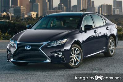 Insurance rates Lexus ES 300h in San Francisco
