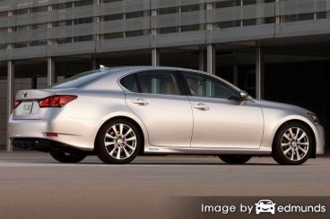 Insurance rates Lexus GS 450h in San Francisco