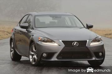 Insurance rates Lexus IS 350 in San Francisco