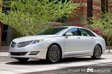 Insurance rates Lincoln MKZ in San Francisco