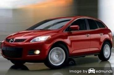 Insurance quote for Mazda CX-7 in San Francisco