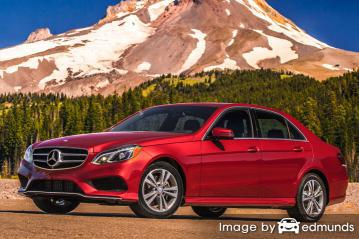 Insurance quote for Mercedes-Benz E350 in San Francisco