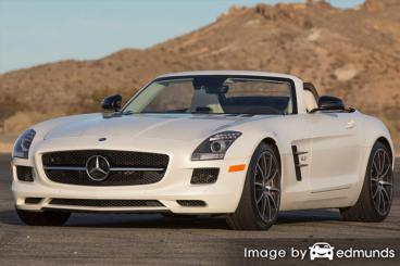 Insurance quote for Mercedes-Benz SLS AMG in San Francisco