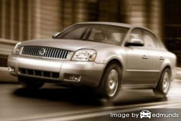 Insurance quote for Mercury Montego in San Francisco