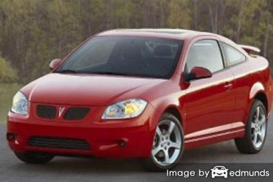 Insurance rates Pontiac G5 in San Francisco