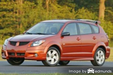 Insurance quote for Pontiac Vibe in San Francisco