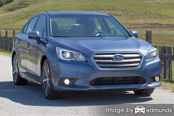 Insurance rates Subaru Legacy in San Francisco